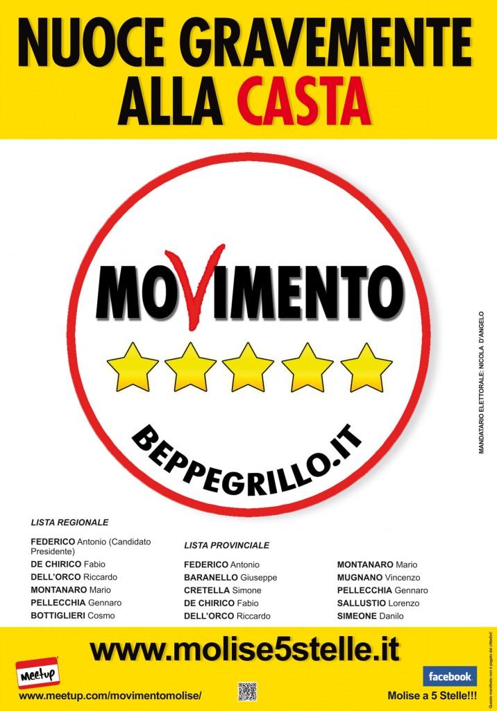 Mnifesto Elettorale in stampa