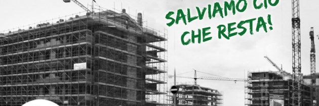 Il consumo di suolo in Italia e Molise… chiariamoci le idee