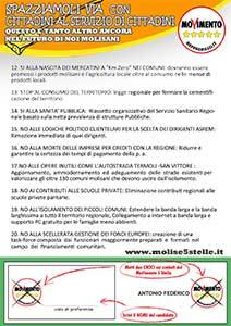 Volantino Regionali 2013 rear