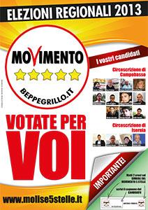 Manifesto regionali 2013