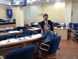 Aula vuota dopo la proposta di abrogazione dell'articolo 7 l.r. 7/2002