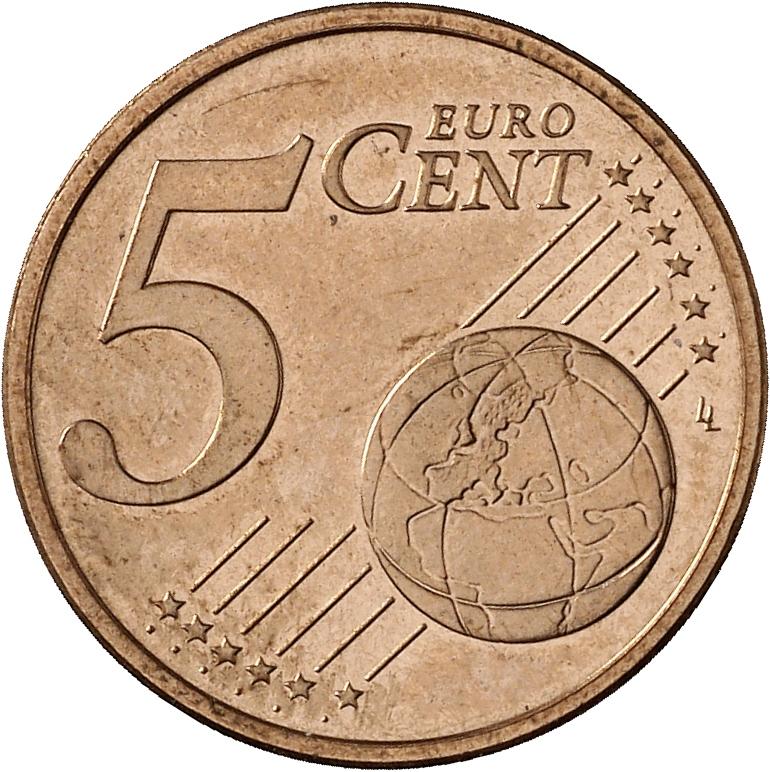 5 Cent MГјnzen