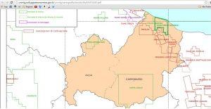Molie cartina idrocarburi