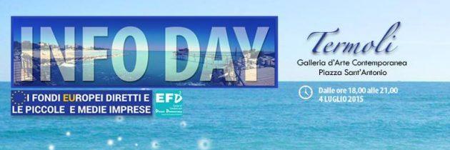 Resoconto – Infoday a Termoli sui fondi diretti Europei e le PMI