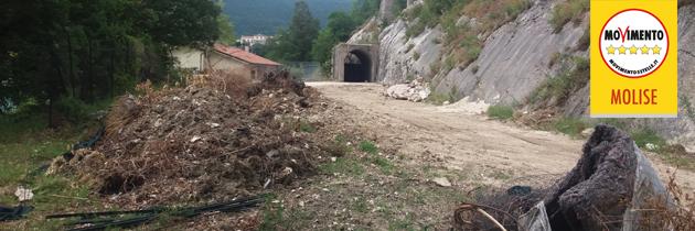 Castel San Vincenzo, stop lavori all'isola ecologica!