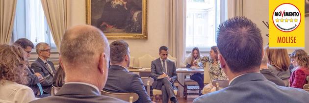 Il Molise a Roma per il programma di governo 5 Stelle
