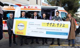 Rinuncia stipendi Ambulanza