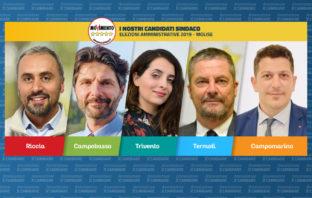 candidati M5S Amministrative Molise 2019