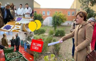 Facciamo Scuola, progetto piante officinali, istituto agrario Larino, Patrizia Manzo