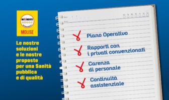 Piano Operativo Sanitario - Consiglio monotSmatico, Molise, M5s
