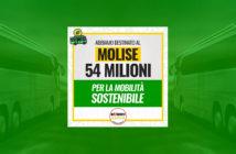Mobilita sostenibili, fondi al Molise, 54 milioni
