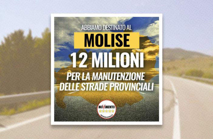 12 milioni di euro dal Governo alle strade provinciali del Molise