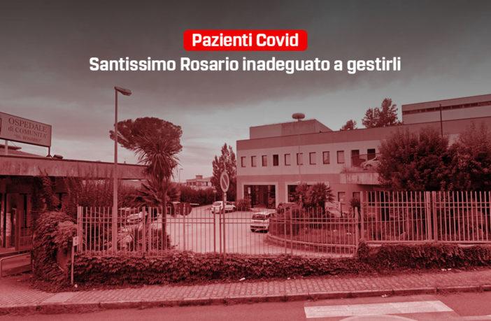 il SS Rosario di Venafro è inadeguato a gestire i pazienti Covid
