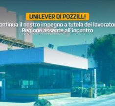 Unilever, prosegue il nostro impegno a tutela dei lavoratori. Regione assente