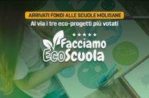 Facciamo Ecoscuola, arrivati i fondi a tre scuole molisane