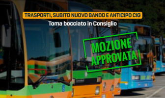 Trasporto pubblico locale, Molise. Mozione M5S approvata.