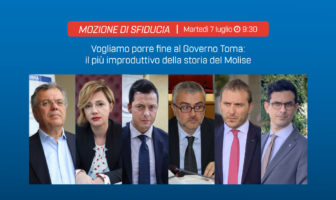 sfiducia al governo Toma, consiglio regionale Molise