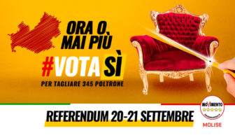Referendum 20 21 Set 2020 - tour dei portavoce M5S Molise