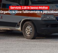 Servizio 118 in basso Molise, organizzazione fallimentare e pericolosa
