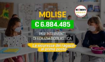 edilizia scolastica fondi per 6,8 milioni di euro al Molise