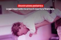 legge disostruzione pediatrica priva di copertura finanziaria