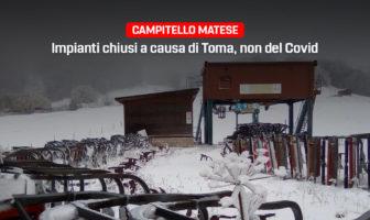 Campitello Matese, gli impianti sono chiusi per colpa di Toma non del Covid
