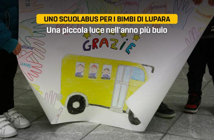 Scuolabus per i bimbi di Lupara