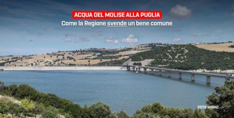 Acqua alla Puglia, come la Regione Molise svende un bene comune