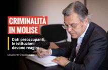 Vittorio Nola, criminalità Molise