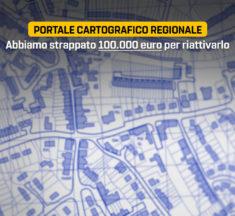 Geoportale, abbiamo strappato 100.000 euro per riattivarlo