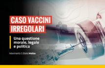 Vaccini irregolari, Consiglio regionale del Molise, amministratori comunali, denuncia M5S Molise