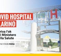 Covid hospital a Larino, arriva l'ok dal Ministero della Salute