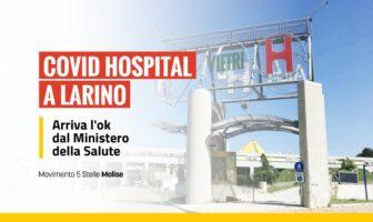 covid hospital, ok Larino