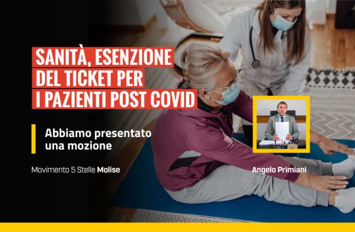 Mozione, esenzione ticket pazienti post covid