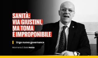 Sanita Molise, via Giustini, no Toma come commissario