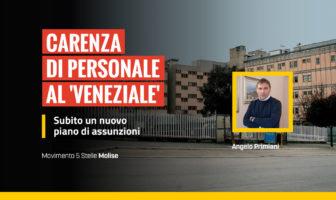 Primiani, m5s, interroga Degrassi e Florenzano, ospedale Veneziale