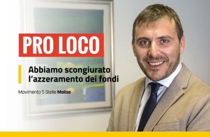 Pro Loco, fondi bilancio 2021-2023 Primiani M5S
