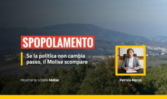Spopolamento Molise, Patrizia Manzo M5S