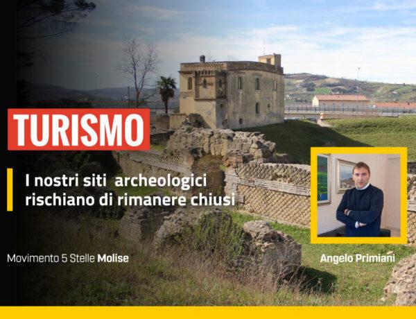 Turismo, i nostri siti archeologici rischiano di rimanere chiusi