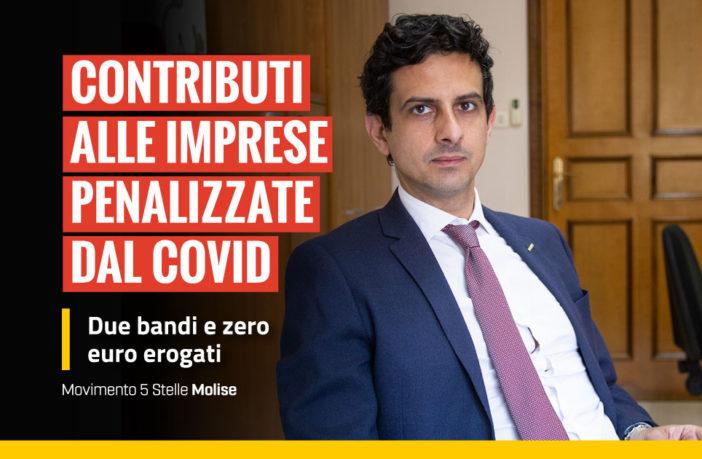 Valerio Fontana - contributi aziende zona rossa, 2 bando e zero fondi