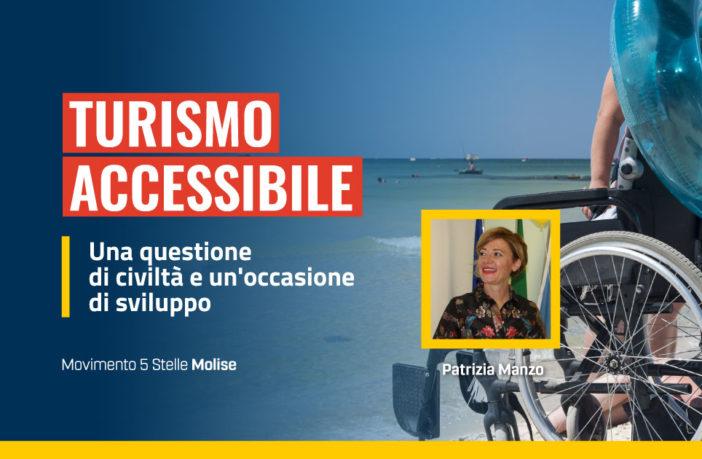 Turismo accessibile, Molise, Patrizia Manzo, M5S