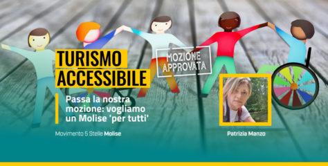 Turismo accessibile, passa la nostra mozione: vogliamo un Molise 'per tutti'