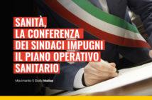 conferenza sindaci impugnare piano operativo sanitario molise