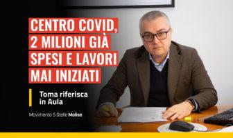 Centro Covid Campobasso - 2 milioni spesi