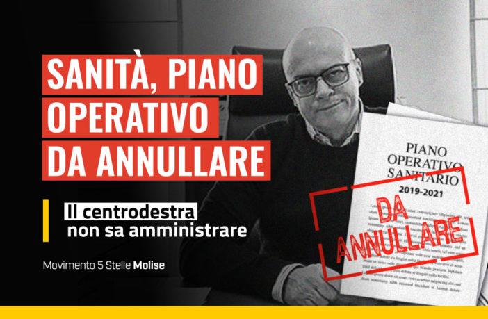 Donato Toma deve dimettersi, il Pos 2019-2021 va annullato