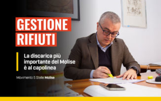 Discarica, gestione rifiuti in Molise, Fabio De Chirico