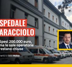 'Caracciolo': spesi 200.000 euro, ma le sale operatorie restano chiuse